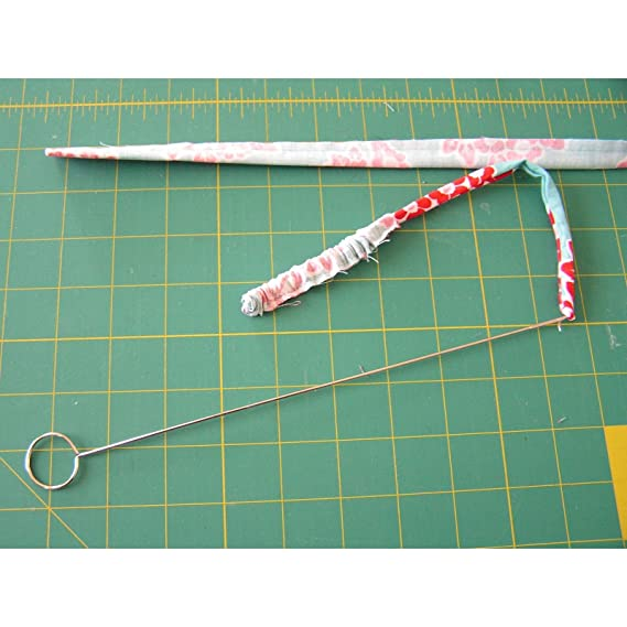 ESSENTIALS METAL LOOP TURNER WITH LATCH FOR STRAPS BELTS STRIPS ROULEAU FREE P/&P
