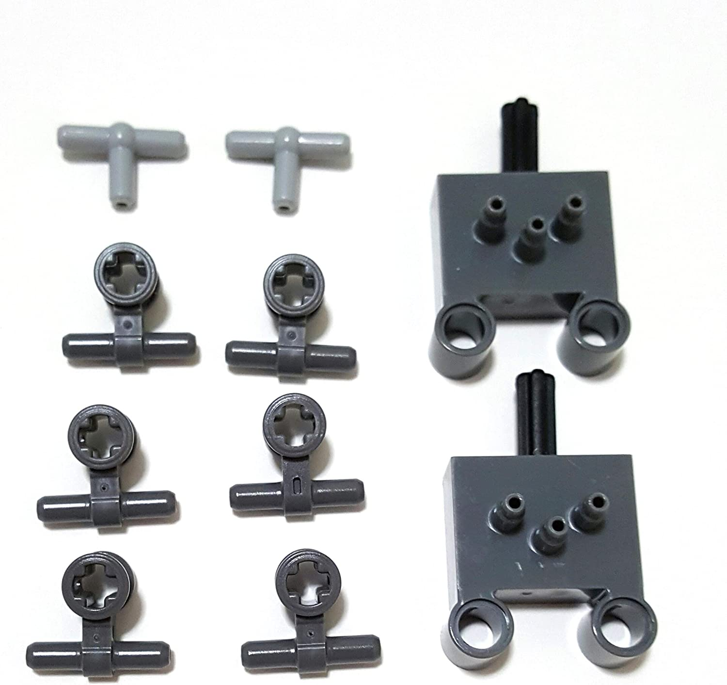LEGO parts: Technic pneumactic 2 way valve and connector kit (10 pieces)