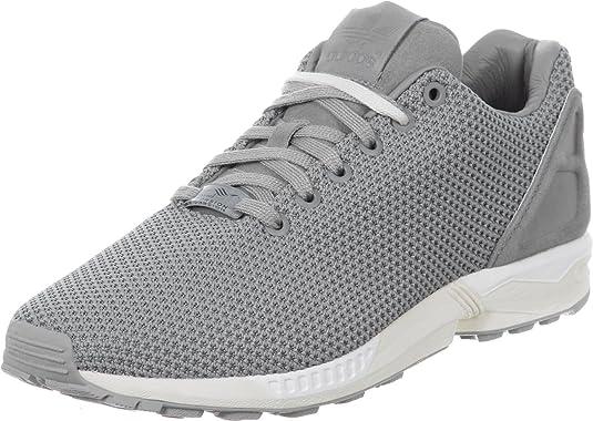 Adidas ZX Flux (Ch Solid Grey / Ftwr White) (US 10.0 / EU 44): Amazon.es: Zapatos y complementos