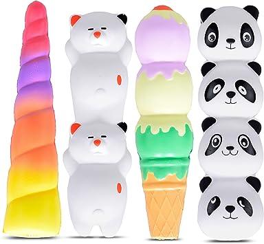 Amazon.com: Juego de 4 portalápices blandos, varios : Toys ...