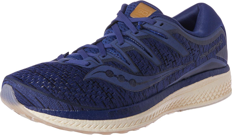 Saucony Triumph ISO 5 Neutralschuh Herren-Dunkelblau, Dunkelgrau, Zapatillas de Running Calzado Neutro para Hombre: Amazon.es: Zapatos y complementos