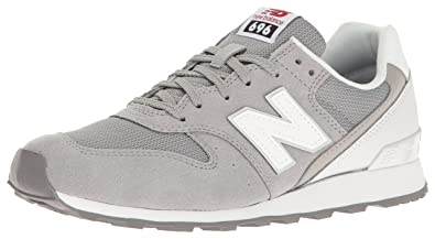 huge selection of f5779 c7fbd New Balance Women s WL696 Classics Sneaker Grey White 5 ...