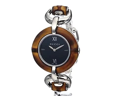 3866aa68e08 Gucci BAMBOO Women s Watch YA132401  Frida Giannini  Amazon.co.uk  Watches