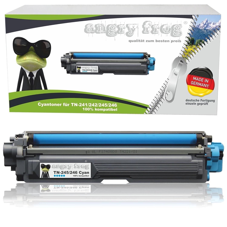 4 unidades Angry Frog® XL - Tóner compatible con Brother TN 241 TN ...