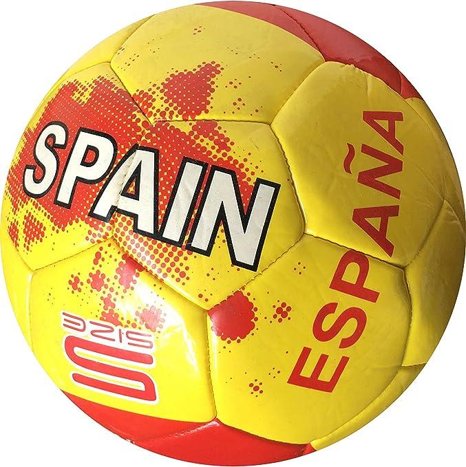 EUROXANTY® Balón de fútbol de España | Diseño Bonito | Pelota Selección Española: Amazon.es: Jardín