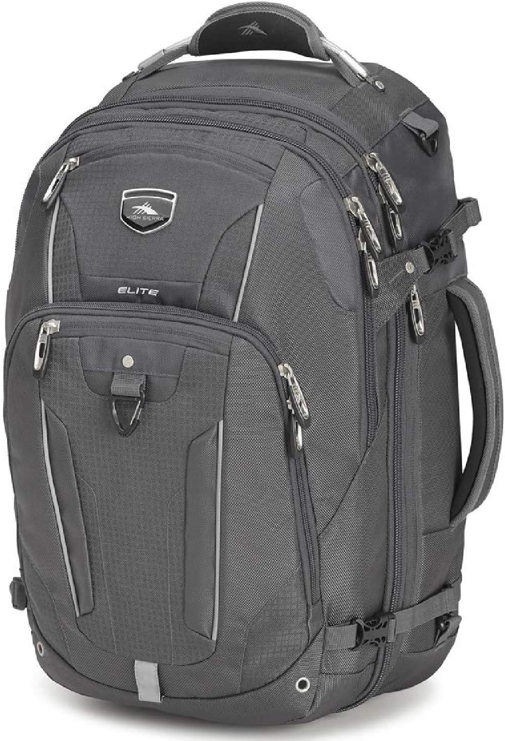 High Sierra Elite Weekender Convertible Travel Backpack, Mercury