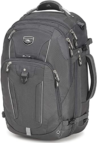 High Sierra Elite Weekender Convertible Travel Backpack