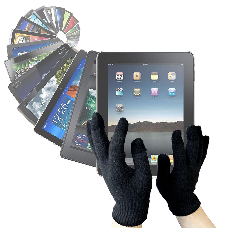 DURAGADGETタッチスクリーン手袋(Medium) with 3つ指Capacitiveテクノロジーfor Huawei MediaPad x1 & MediaPad m1   B00IZL5AYM