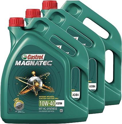 Castrol Magnatec Engine Oil 15l 3x5l Auto