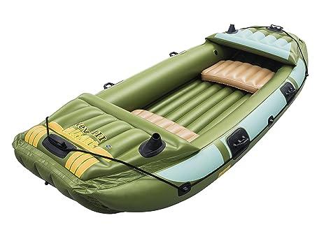 Bestway - Barca Hinchable Neva III: Amazon.es: Deportes y aire libre