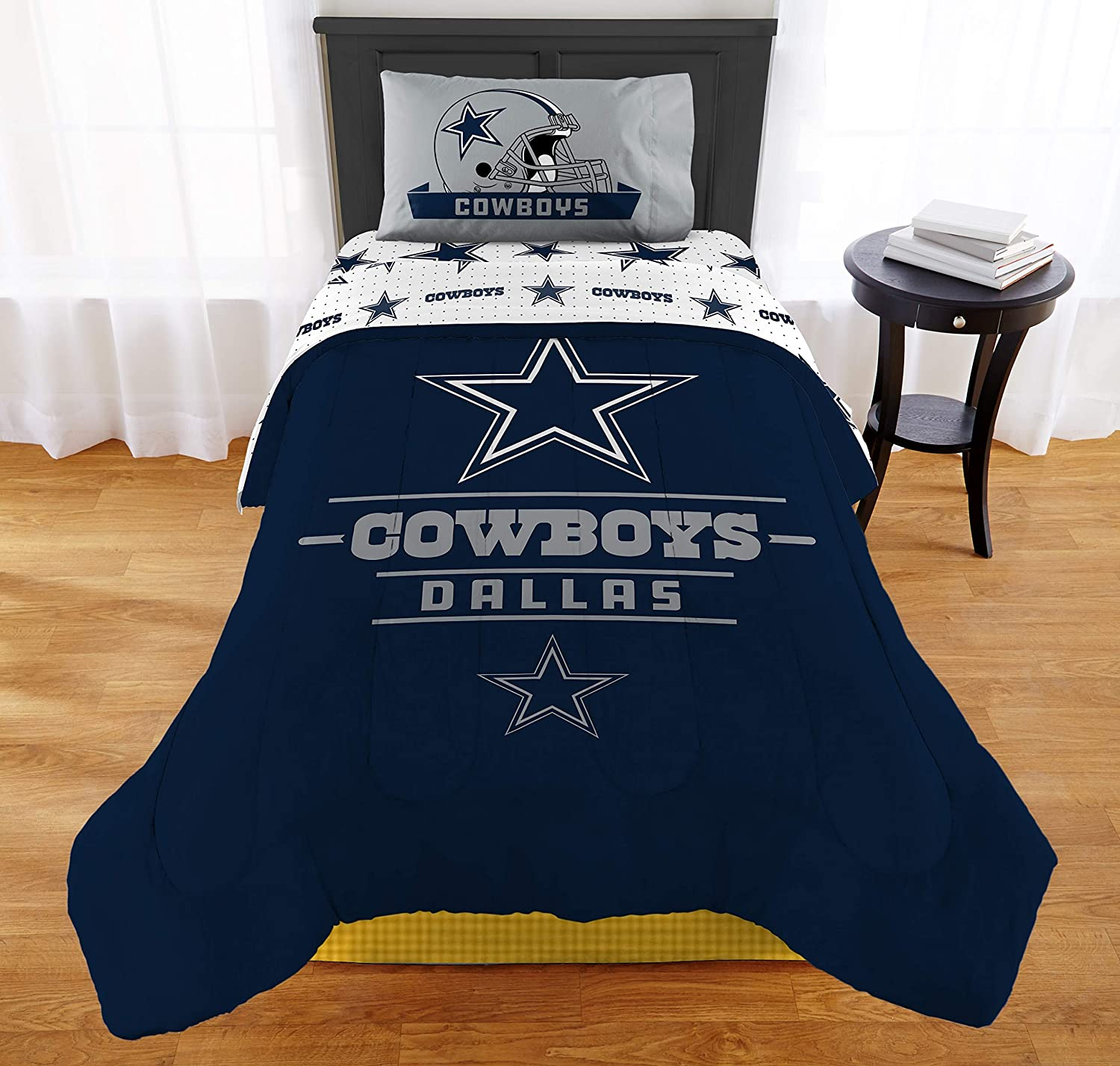 "The Northwest Company NFL Dallas Cowboys ""Monument"" Twin/Full Comforter Set #347951997"