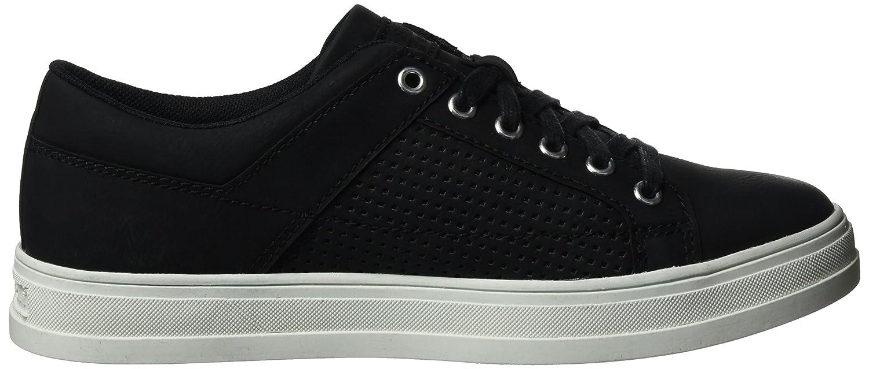 ESPRIT Damen 001) Sidney Perf Lace Up Sneakers Schwarz (schwarz 001) Damen aeb0af