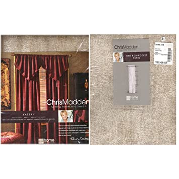 Amazon Com Jcpenney Home Collection Chris Madden Kasbah Rod Pocket