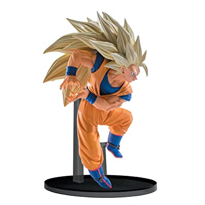 "Banpresto Dragon Ball Super Saiyan 3 Goku Sculptures Big Budoukai 6 Volume 6 Figure, 5.1"": Toys & Games"