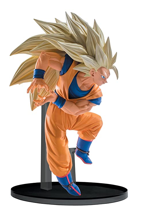 amazon com banpresto dragon ball super saiyan 3 goku sculptures big