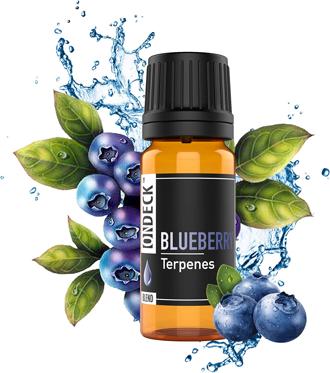 ON DECK Terpenes - Blueberry | 4ML | 24 - Strain Specific Profiles | 100% Pure Organic Concentrate | Natural |