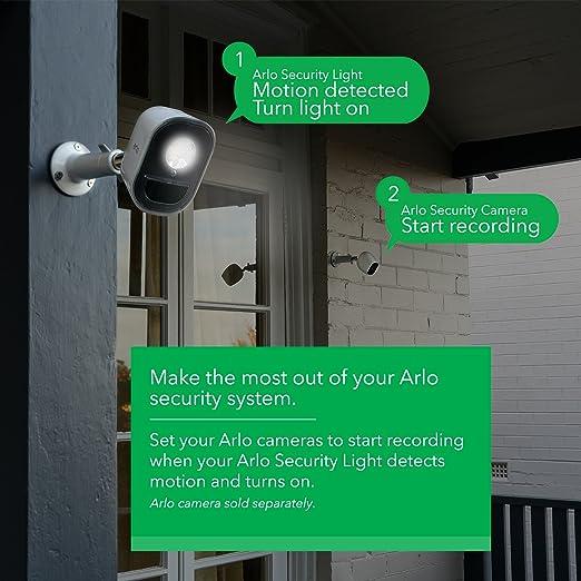 Arlo Technologies Smart Home Security Light  Wireless