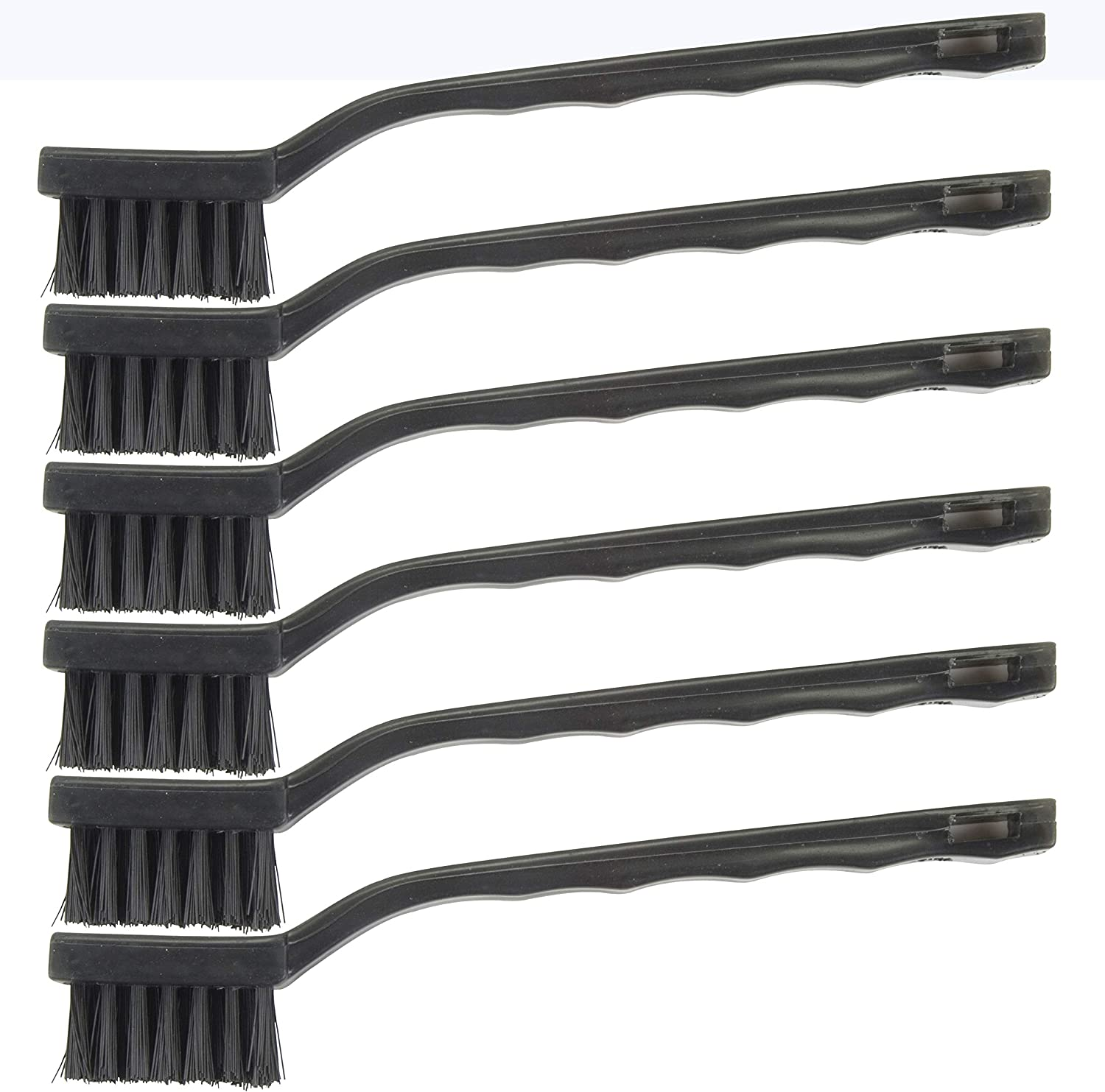 46615 Hyde Tools Nylon Wire Brushes - Pack of 6 (Nylon)