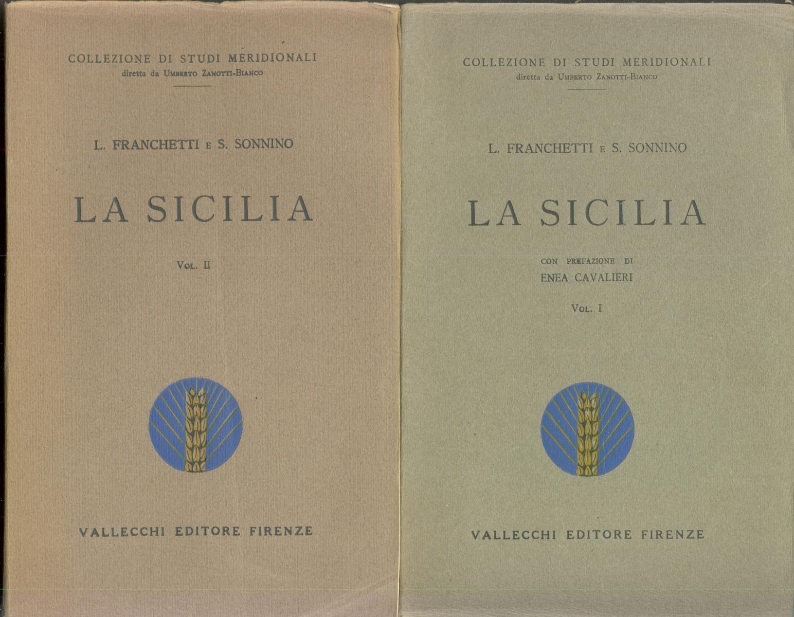Amazon.it: La Sicilia nel 1876 DUE VOLUMI Condizioni politiche e  amministrative, I contadini - Franchetti L, Sonnino S. - Libri