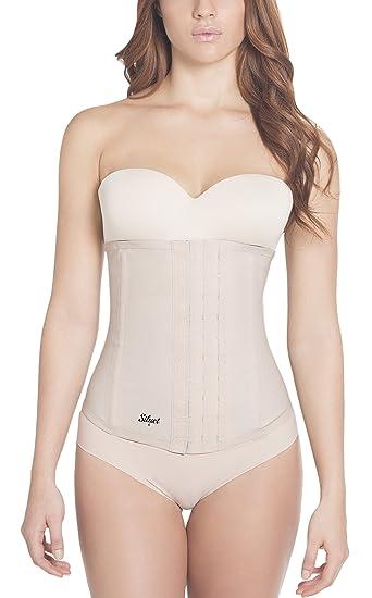 fe9d1f4f21 Amazon.com  Siluet Classic Latex Waist Cincher  Clothing