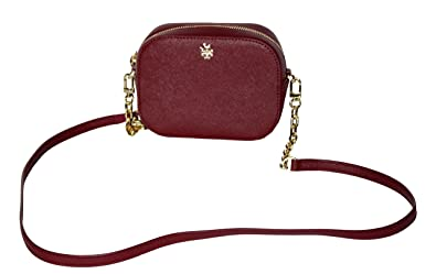 60175746c48a Image Unavailable. Image not available for. Color  Tory Burch Emerson Round  Cross-body Saffiano Leather ...