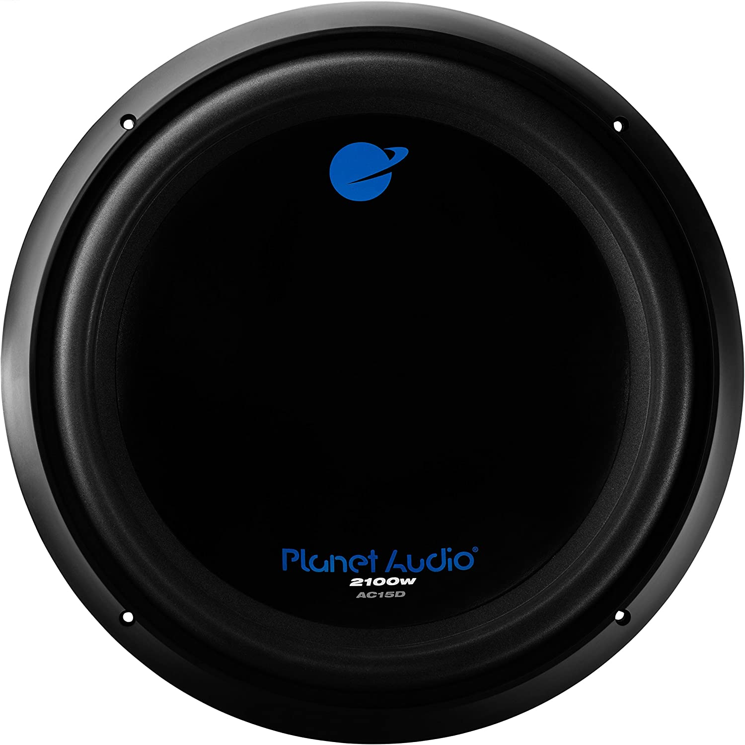 Planet Audio AC15D Car Subwoofer - 2100 Watts Maximum Power, 15 Inch, Dual 4 Ohm Voice Coil, Easy Mounting, Sold Individually
