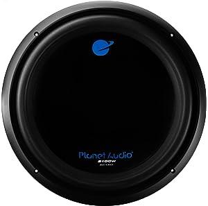 Planet Audio AC15D 2100 Watt, 15 Inch, Dual 4 Ohm Voice Coil Car Subwoofer