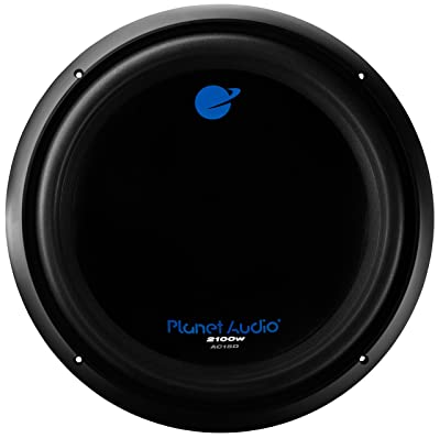 Planet Audio AC15D Car Subwoofer