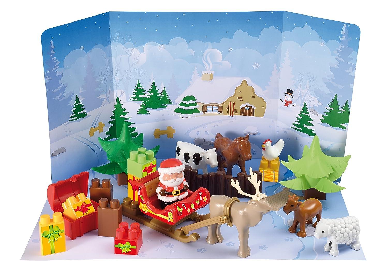 Ecoiffier 3109 - Abrick Calendario de Adviento Magia del invierno E3109