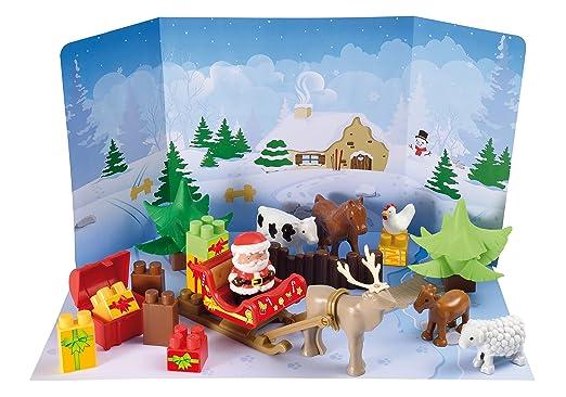 2 opinioni per Ecoiffer 7600003109 Calendario Dell'Avvento Babbo Natale Con Animali Fattoria
