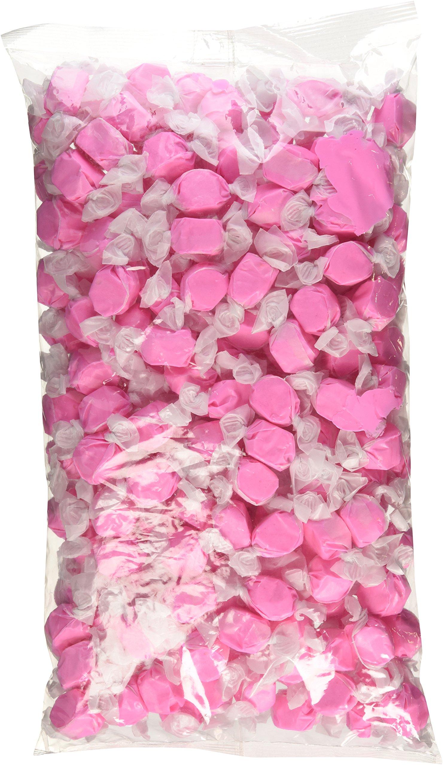 Sweets Salt Water Taffy, Pink Strawberry, 3 Pound