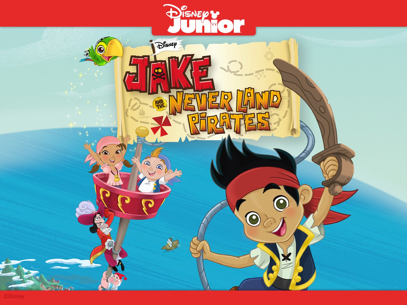 The pirate games (disney junior: jake and the neverland pirates.