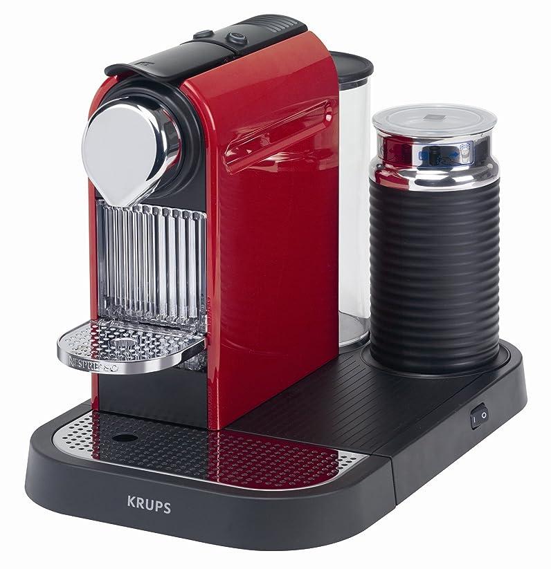 Krups XN 7106 Cafetière NESPRESSO® CitiZ rouge: Amazon.fr: Cuisine ...