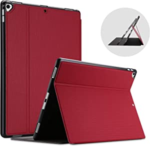 ProCase iPad Pro 12.9 2017 / 2015 Case (Old Model, 2nd & 1st Gen), Slim Stand Protective Folio Case Smart Cover for iPad Pro 12.9 Inch 2nd Gen 2017 / iPad Pro 12.9 Inch 1st Gen 2015 -Red