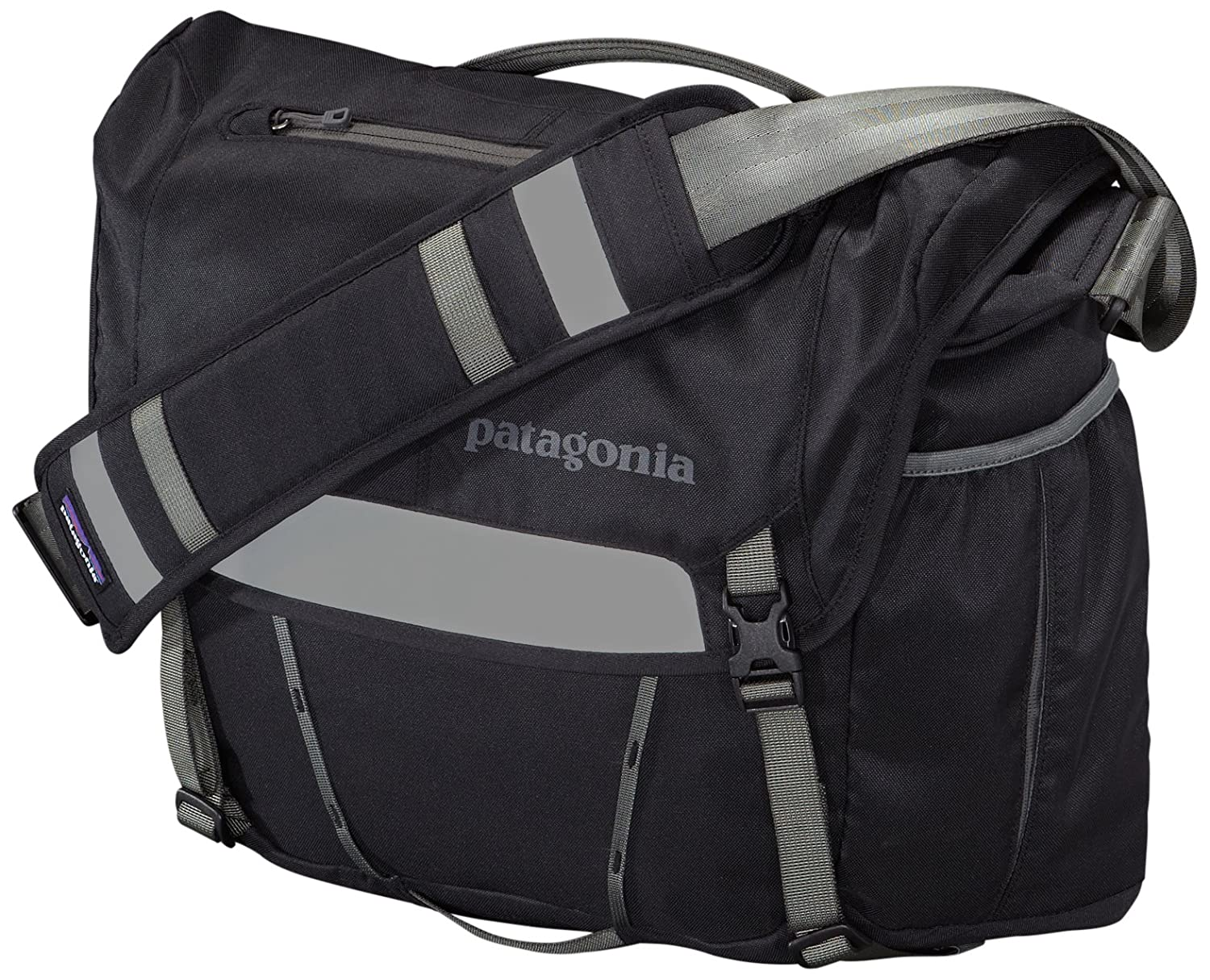 342956474a1 Patagonia half mass messenger bag black sports outdoors jpg 1500x1214 Patagonia  minimass nickel