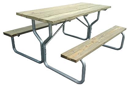 Amazon.com : Picnic table frame - frame only~Rosendale Picnic Tables ...