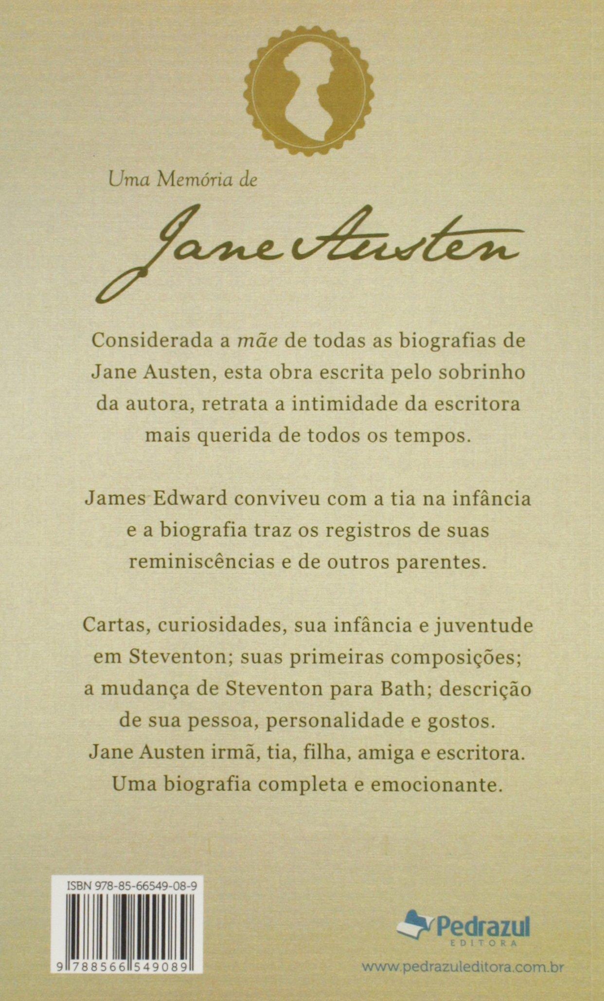 Memoria de Jane Austen, Uma: James Edward Austen-Leigh ...