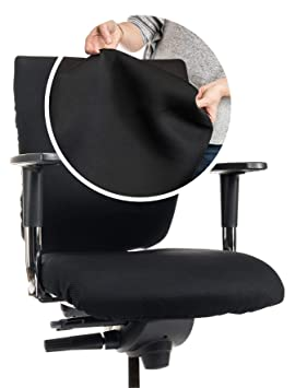 Funda prémium para silla de oficina // funda CLEANCHAIR.CC Respaldo ...