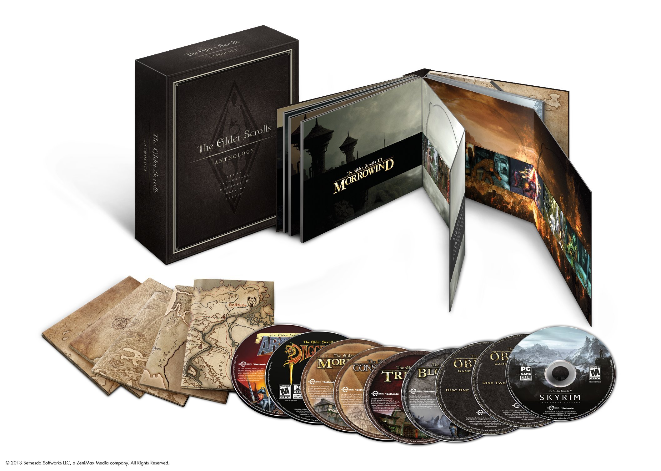 The elder scrolls collection pc