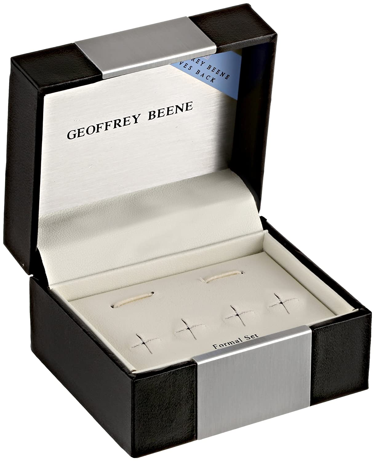 Geoffrey Beene Mens Dress Set with Crystal Detail