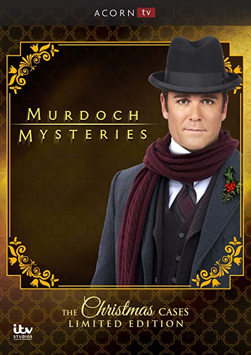 Top 4 Murdoch Mysteries Home For The Holidays Box Set