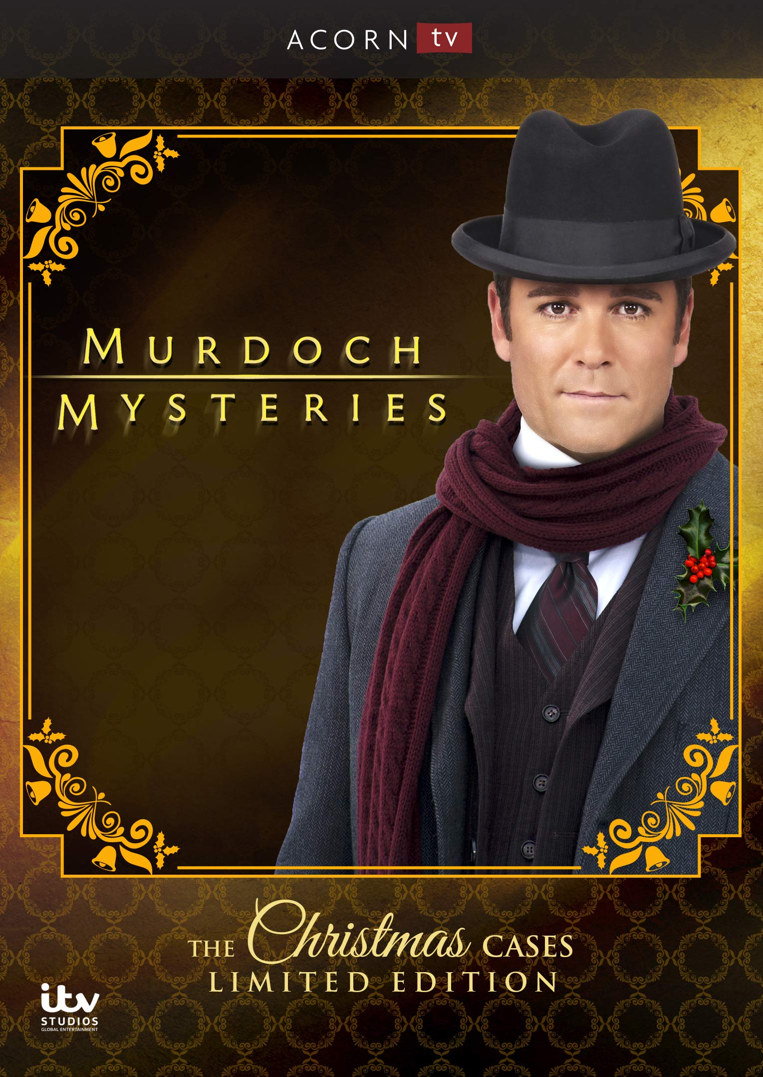 DVD : Murdoch Mysteries: Christmas Cases Collection (Limited Edition)