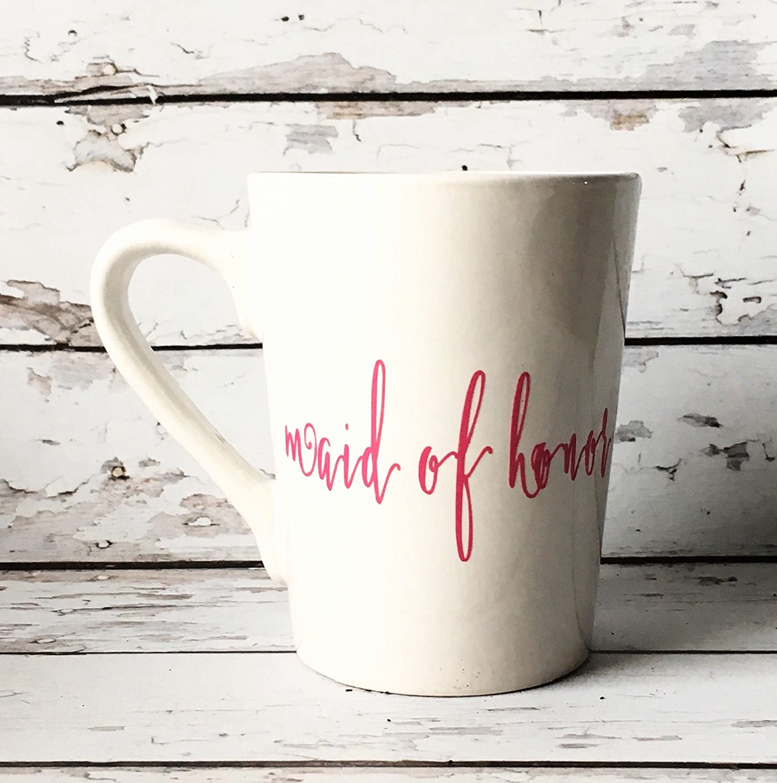 Amazon.com: Bridesmaid Coffee Mug - Bridal Party Gifts ...