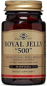 "Solgar - Royal Jelly ""500"" Supplement, 60 Softgels"