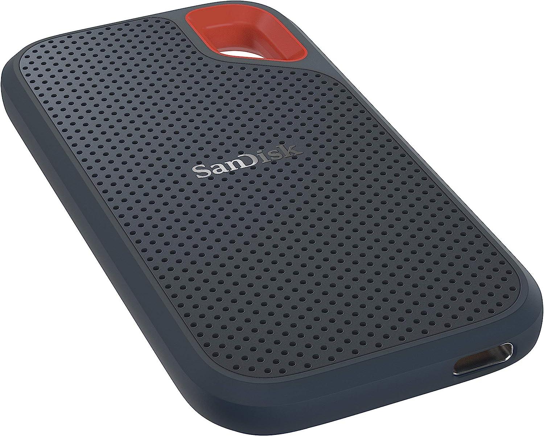 SanDisk Extreme SSD portátil 2TB - hasta 550MB/s Velocidad de ...