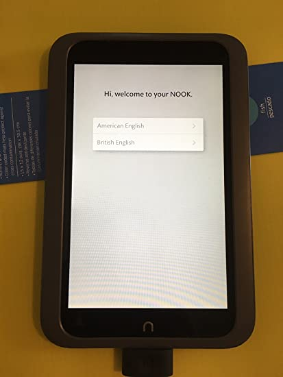 Barnes & Noble Nook HD 8 GB pantalla táctil 7 pulgadas Google Play ...
