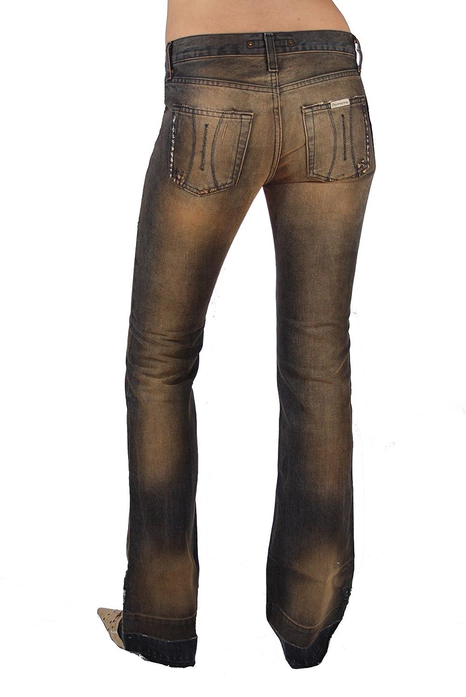 Fornarina Mujer Jeans Flirt bit Denim marrón W27; W28 # 1 ...