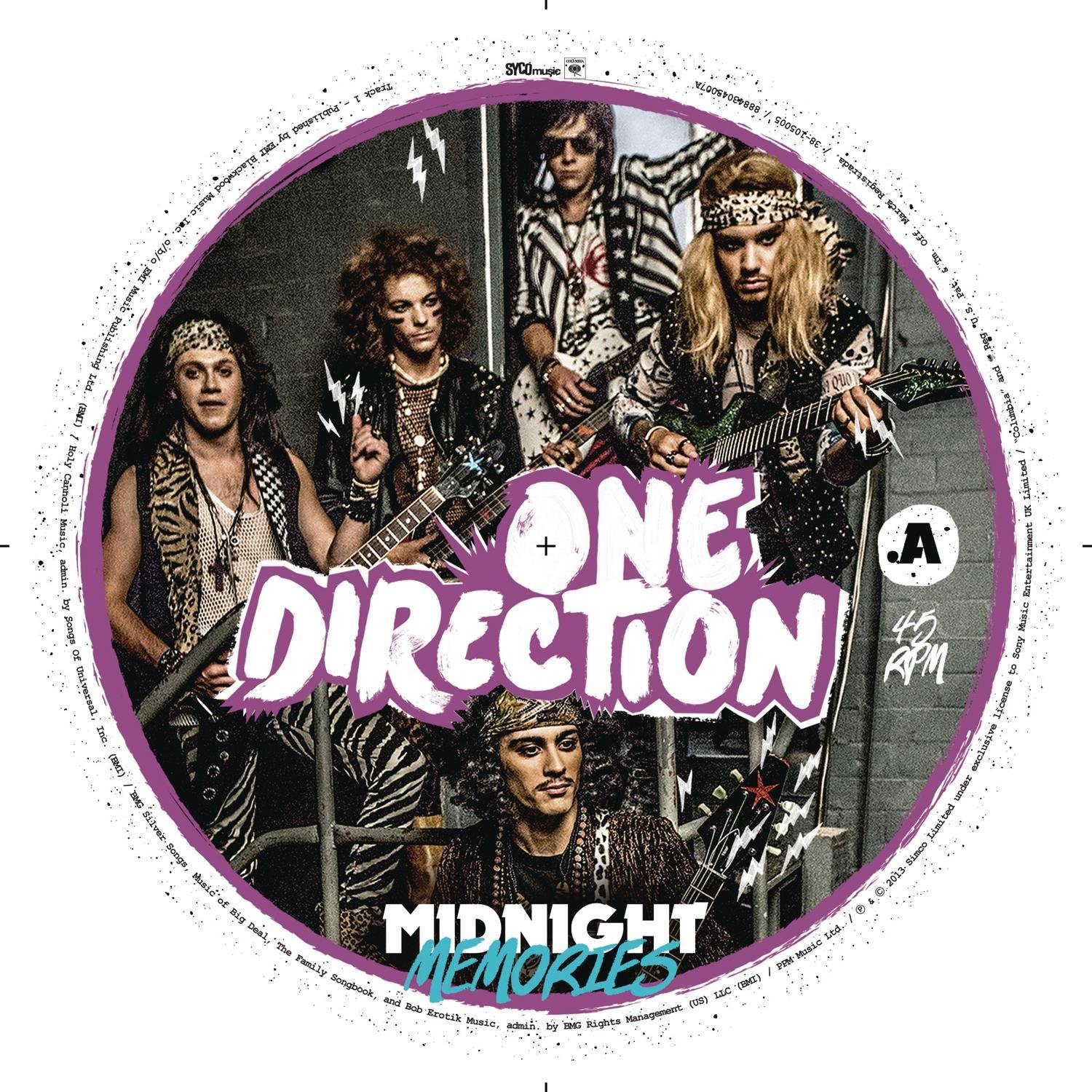 CD : One Direction - One Direction : Midnight Memories (Picture Disc Vinyl LP)
