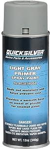 Quicksilver 802878Q52 Primer Paint - Light Gray Enamel Spray Paint