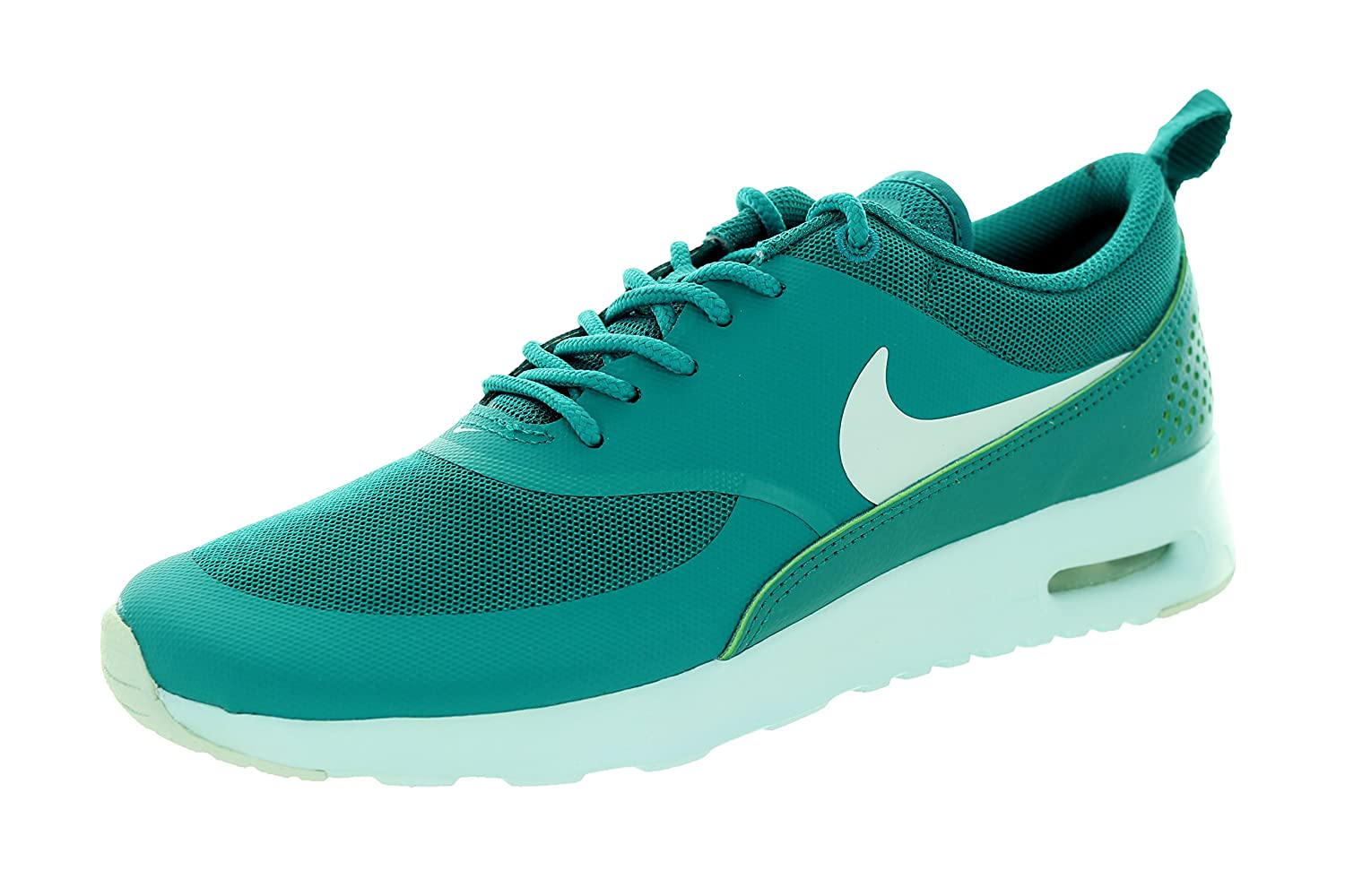 NIKE Women's Air Max Thea Low-Top Sneakers, Black B00PZ874UG 6 B(M) US|Emerald/White